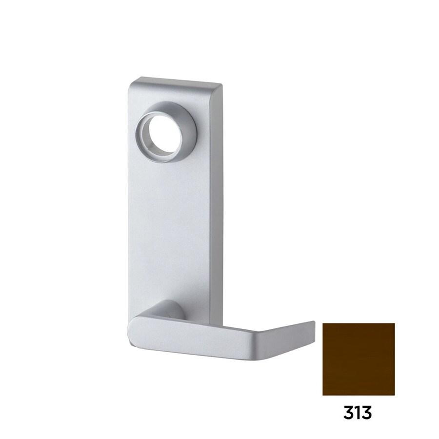 Dexter Commercial Hardware Ed2000 2.75-in Dark Bronze Steel Lockable Exit Device Trim