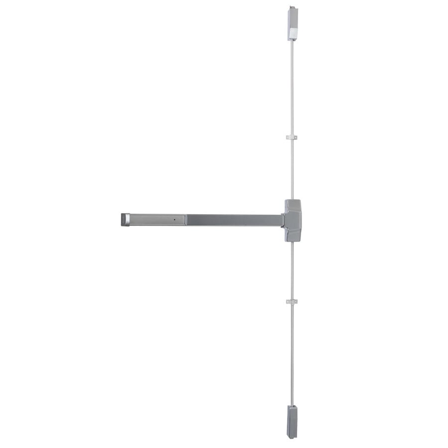 Dexter Commercial Hardware Ed1000 36-in Satin Chrome Aluminum Vertical Rod Exit Device