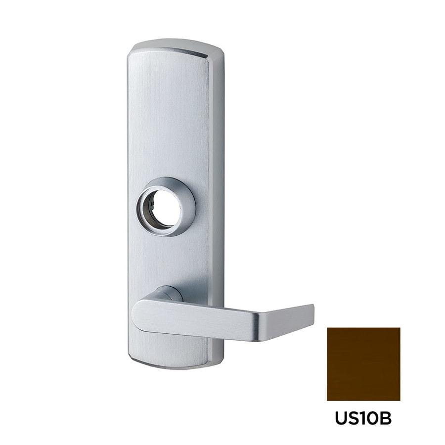 Dexter Commercial Hardware Ed1000 2.75-in Oil-Rubbed Dark Bronze Aluminum Lockable Exit Device Trim