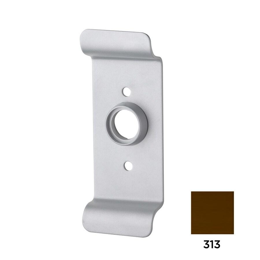 Dexter Commercial Hardware Ed2000 3-in Dark Bronze Steel Lockable Exit Device Trim