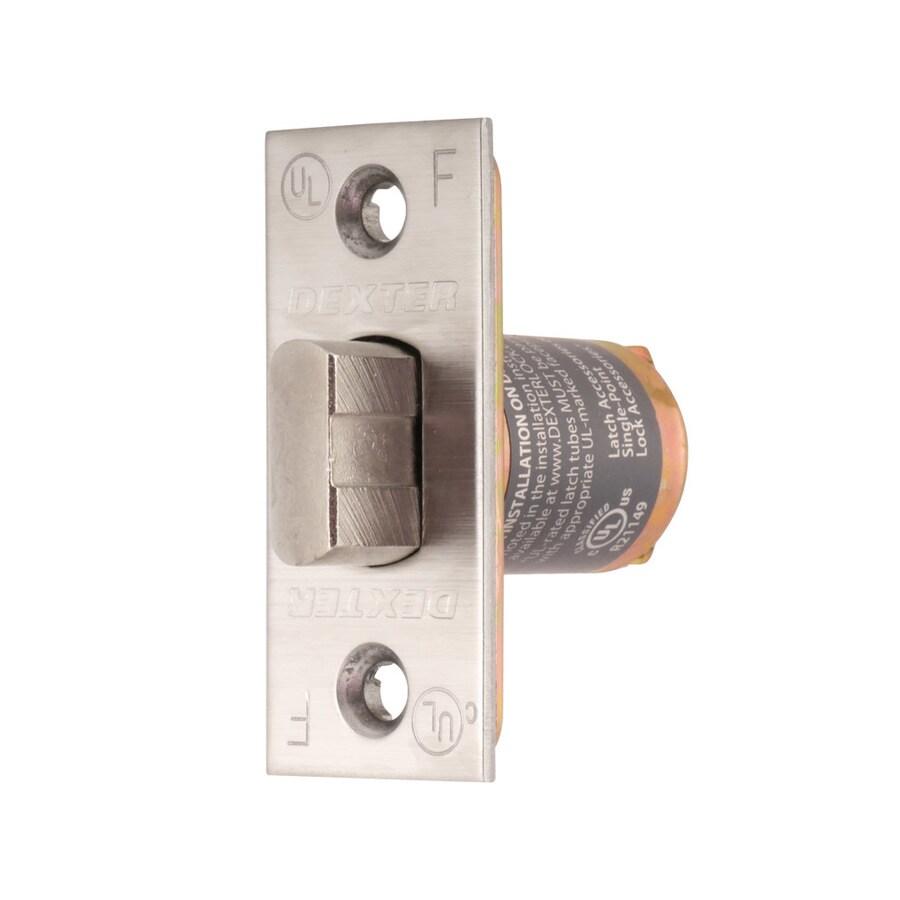 Dexter Commercial Hardware C1000 Series 2-3/8-in Springlatch Square Corner - Satin Stainless Steel