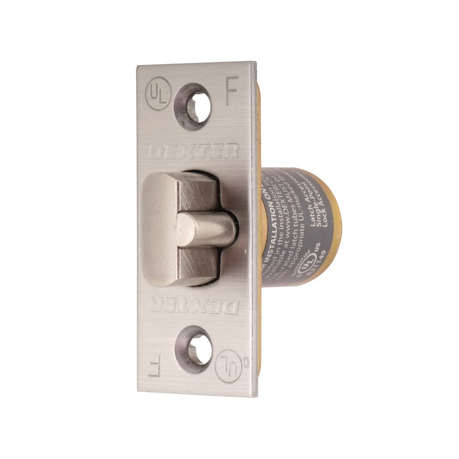 Dexter Commercial Hardware C1000 Series 2-3/8-in Deadlatch Square Corner - Satin Stainless Steel
