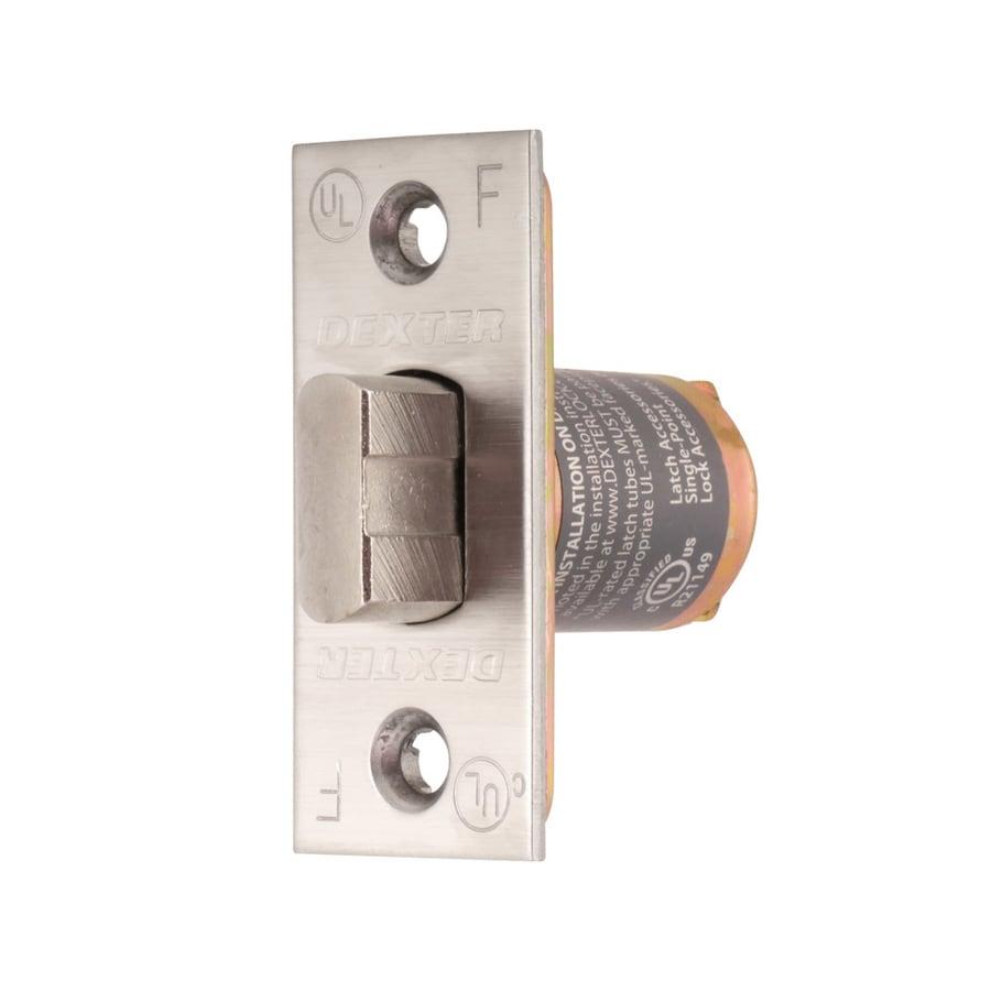 Dexter Commercial Hardware C2000 Series 2-3/8-in Springlatch Square Corner - Satin Stainless Steel