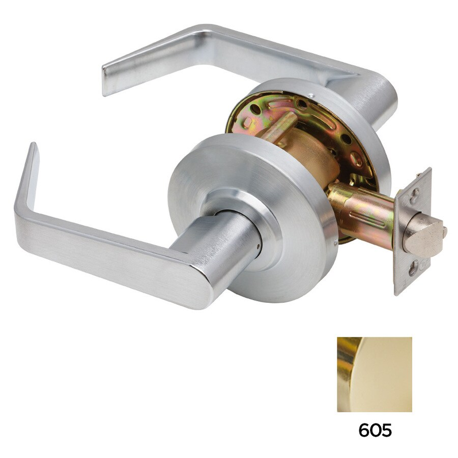 Dexter Commercial Hardware C2000 Regular Bright Brass Passage Door Lever