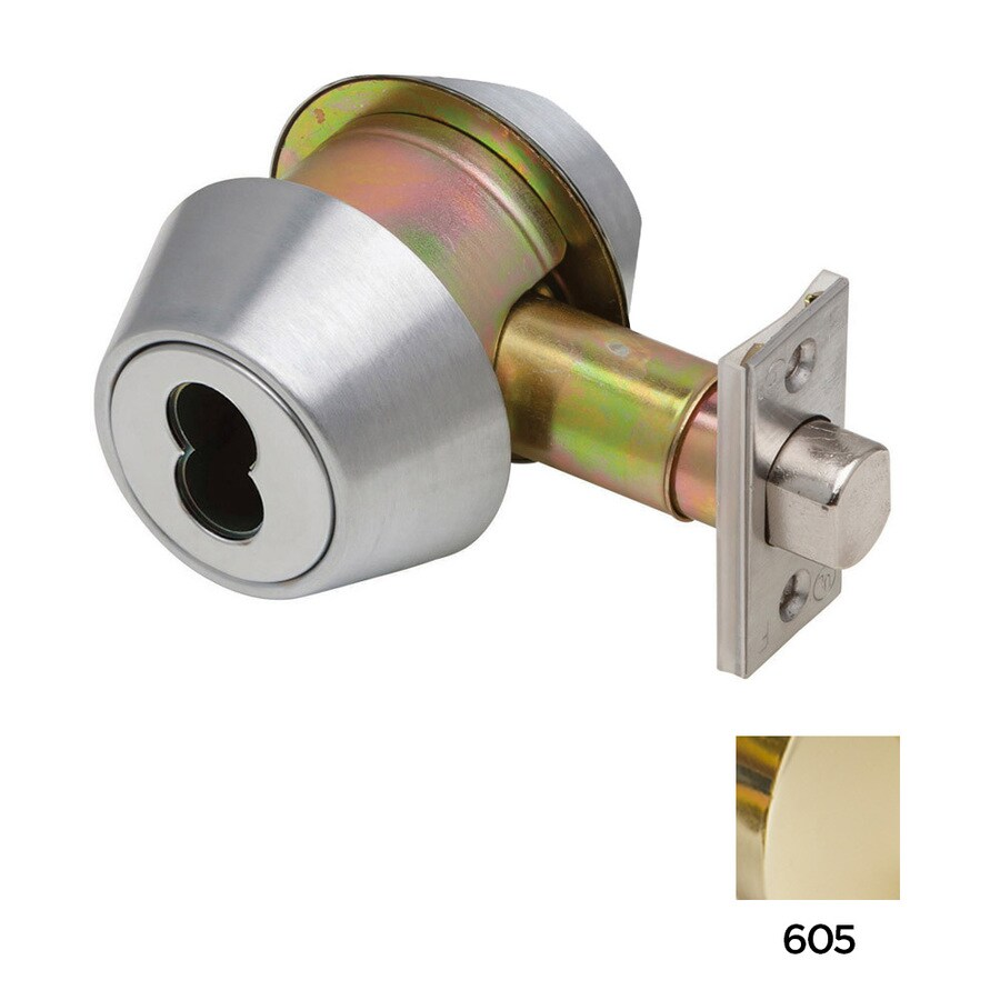 Dexter Commercial Hardware DB2000 Bright Brass Deadbolt