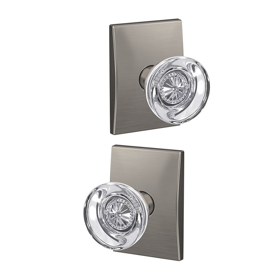 Schlage Custom Hobson X Century Satin Nickel Combined Door