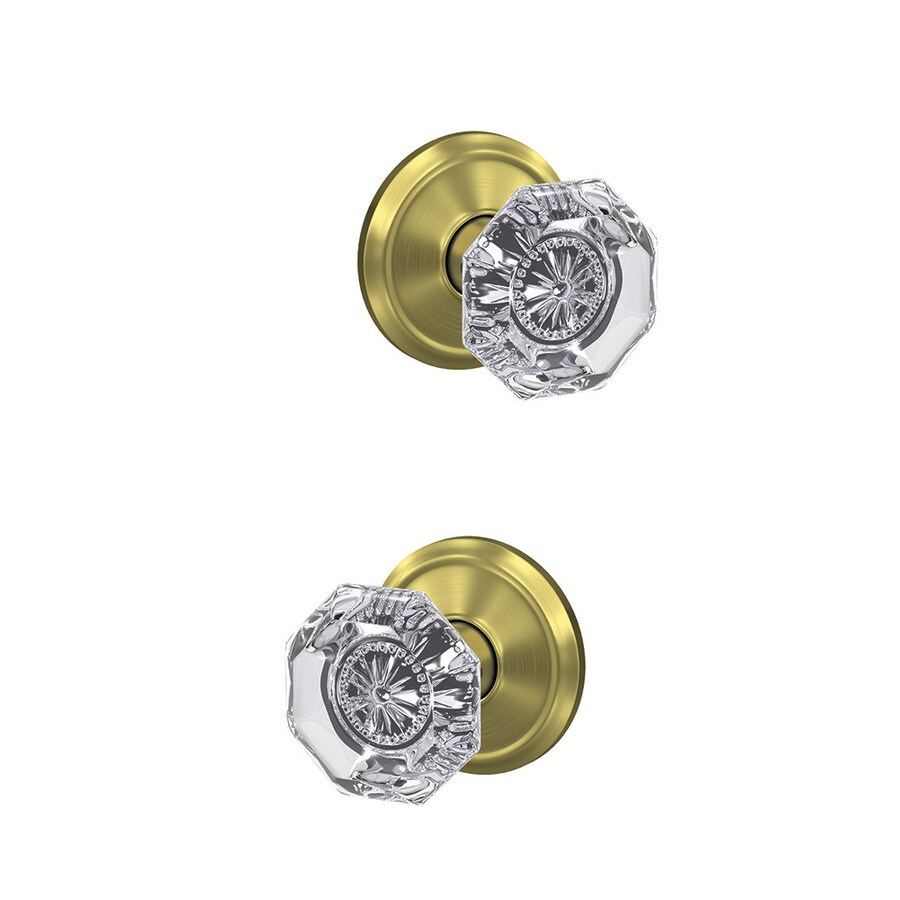 Schlage Fc172 Alx Ald Custom Alexandria Alden Satin Brass