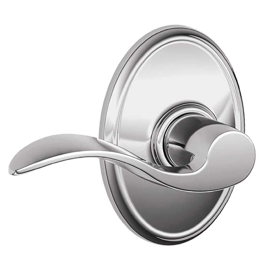Schlage Accent Bright Chrome Passage Door Lever