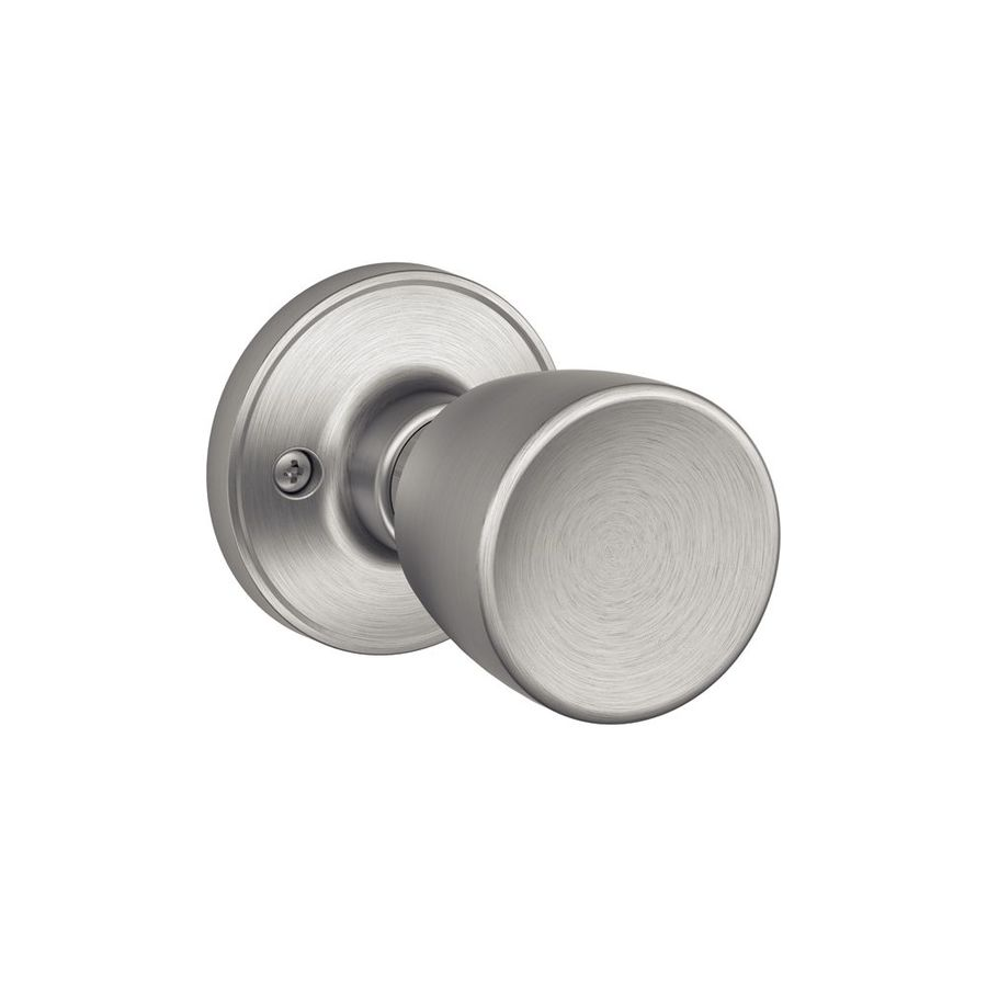 Schlage J Byron Satin Stainless Steel Dummy Door Knob