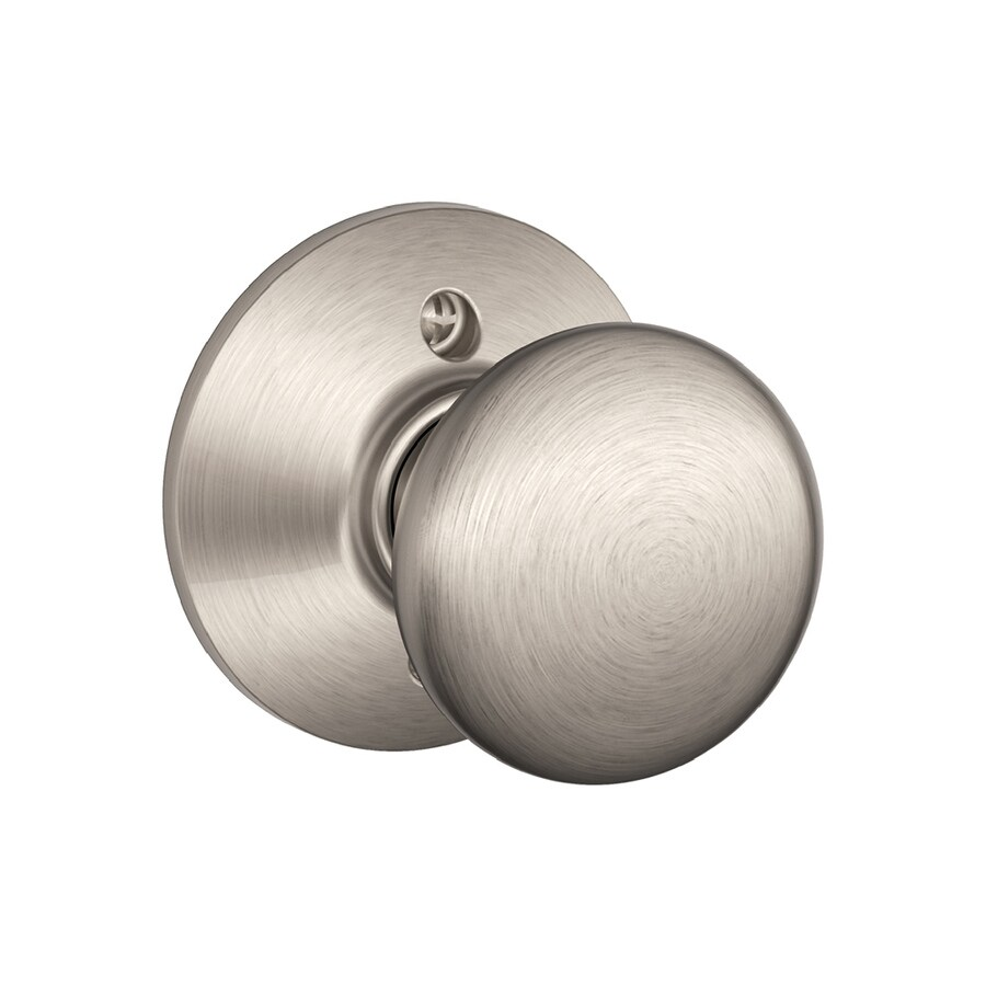Etonnant Schlage F Plymouth Satin Nickel Dummy Door Knob