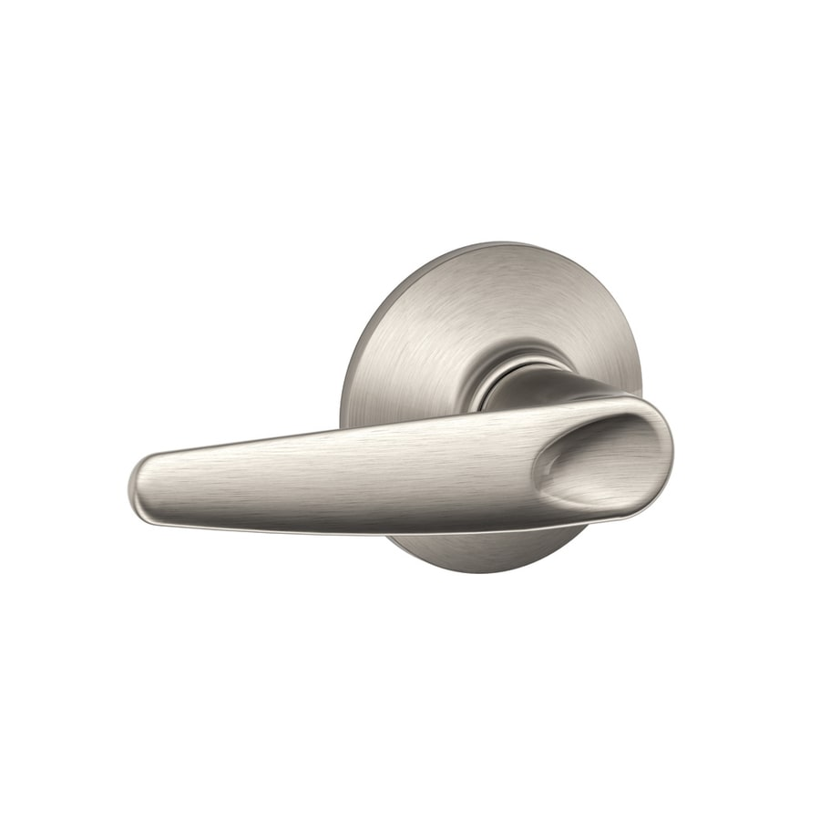 Schlage Jazz Satin Nickel-Handed Passage Door Lever