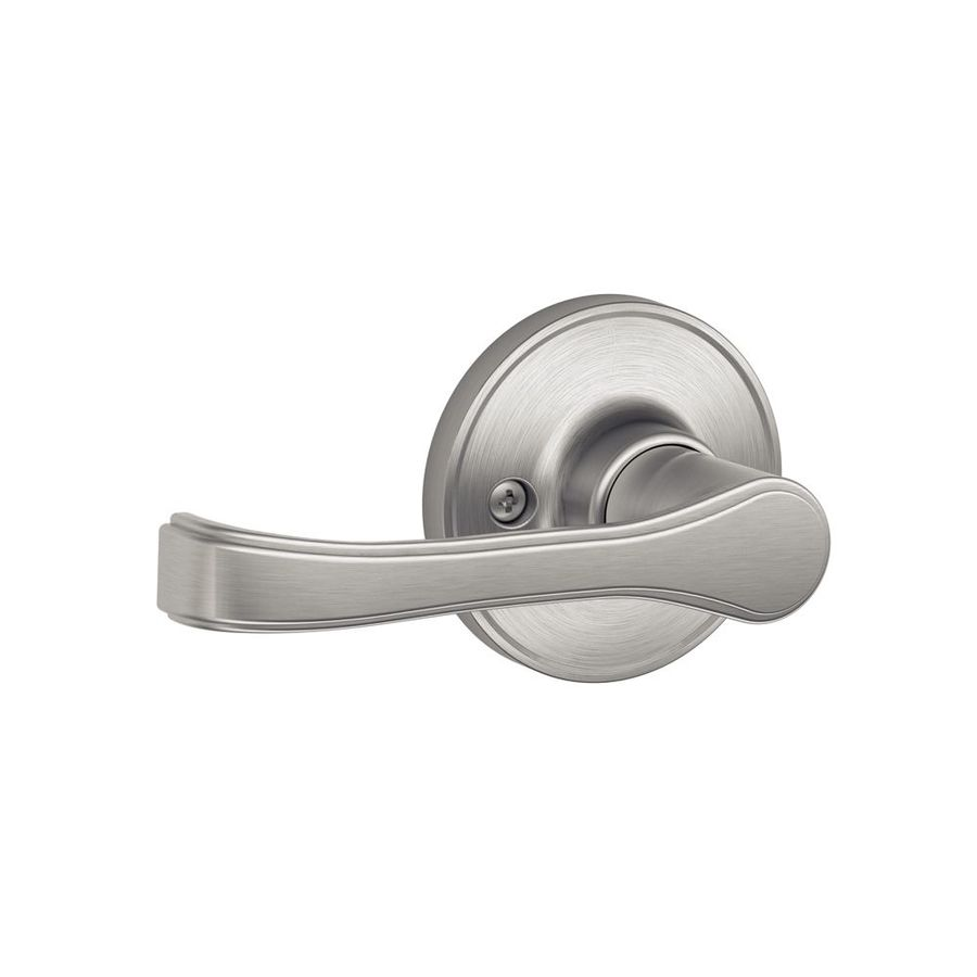 Shop Schlage J Torino Satin Stainless Steel Dummy Door
