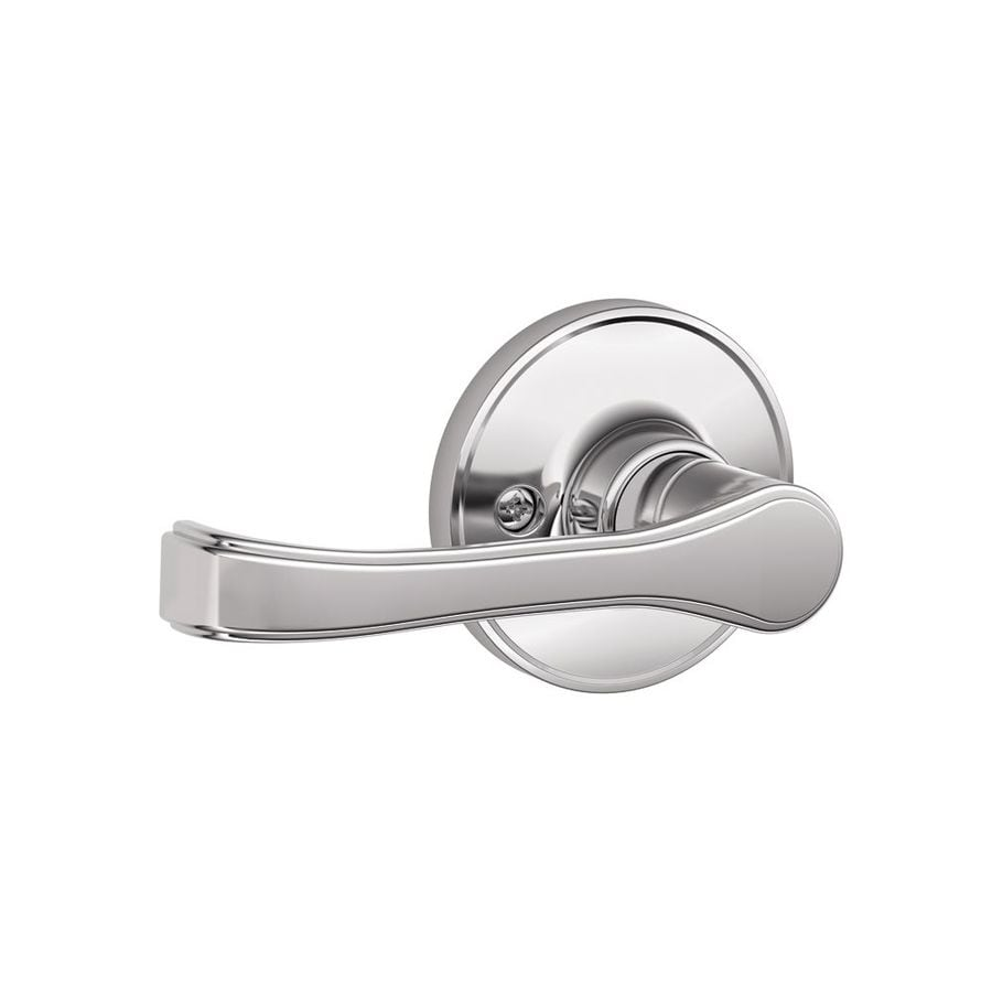 Schlage J Torino Bright Chrome Dummy Door Lever