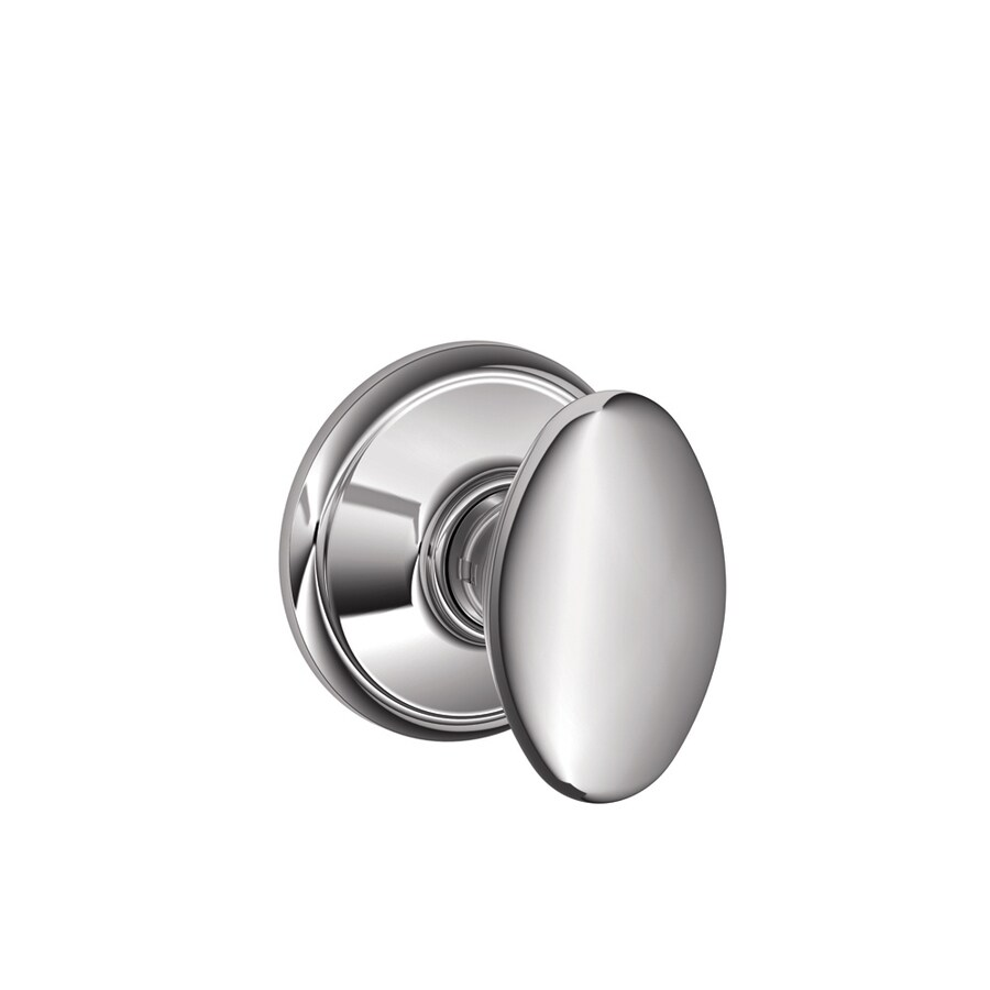 Schlage Siena Bright Chrome Egg Passage Door Knob