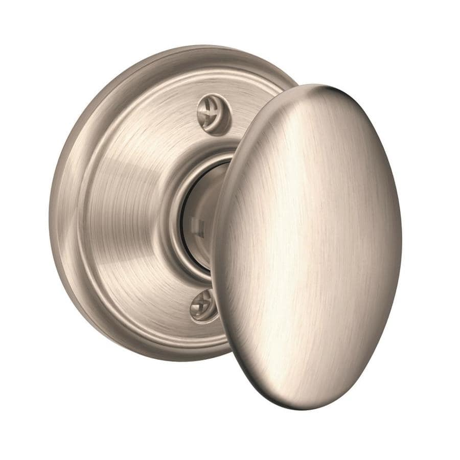 Schlage F Siena Satin Nickel Dummy Door Knob
