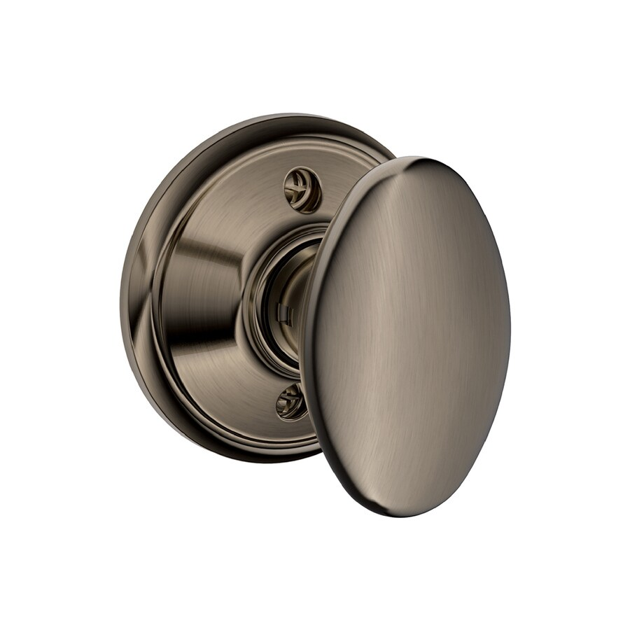 Schlage F Siena Antique Pewter Dummy Door Knob