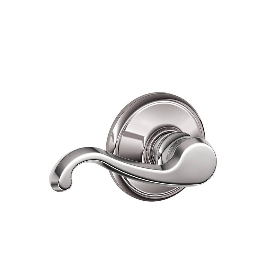Schlage Callington Bright Chrome-Handed Passage Door Lever