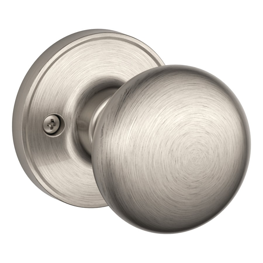 Schlage J Stratus Satin Nickel Dummy Door Knob