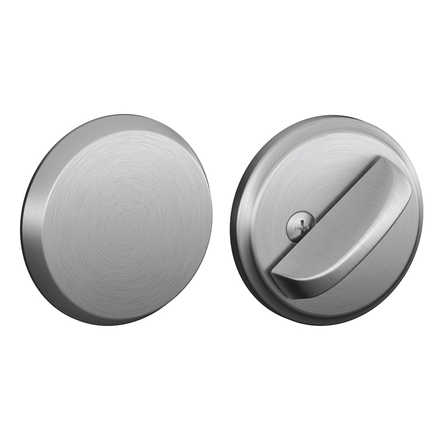 Schlage J Satin Stainless Steel Deadbolt