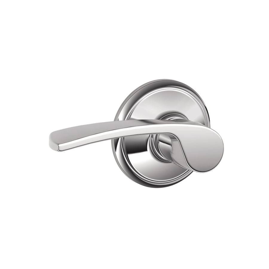 Schlage Merano Bright Chrome-Handed Passage Door Lever