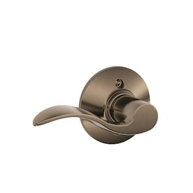 Schlage Accent Right Handed Single Lever Dummy Door Knob Satin Nickel   NIB