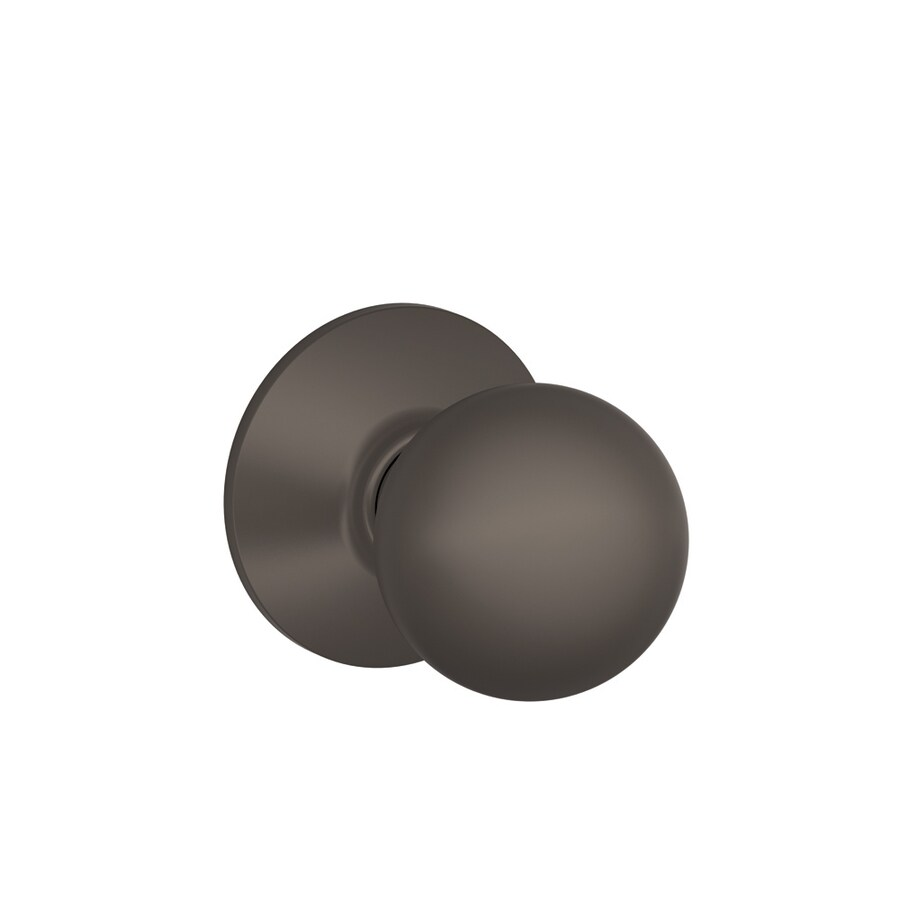 Schlage Orbit Oil-Rubbed Bronze Round Passage Door Knob