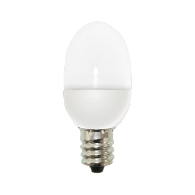 Ge Ge Led 4 Watt Eq 2 In C7 Soft White Night Light 2 Pack In The Specialty Light Bulbs Department At Lowes Com
