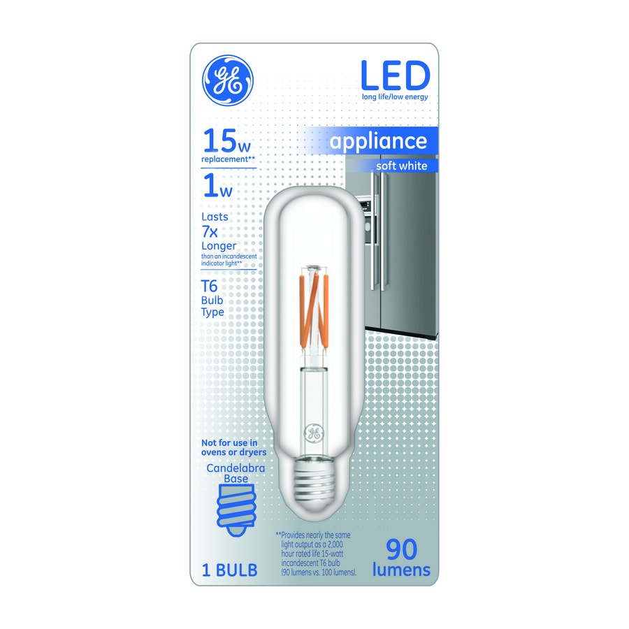GE 15 W Equivalent Soft White T6 LED Tube Light Bulb