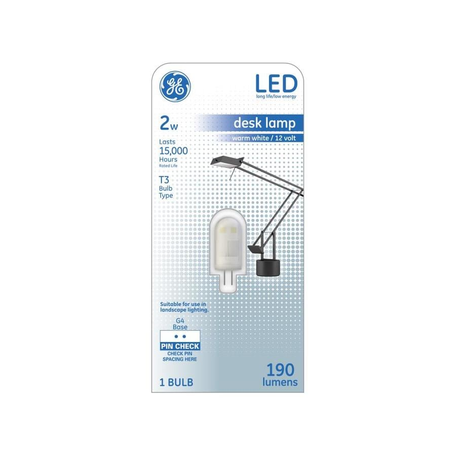 GE 20 W Equivalent Warm White T3 LED Display Light Bulb