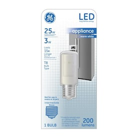 GE LED 25-Watt EQ 2.75-in T8 Warm White Appliance