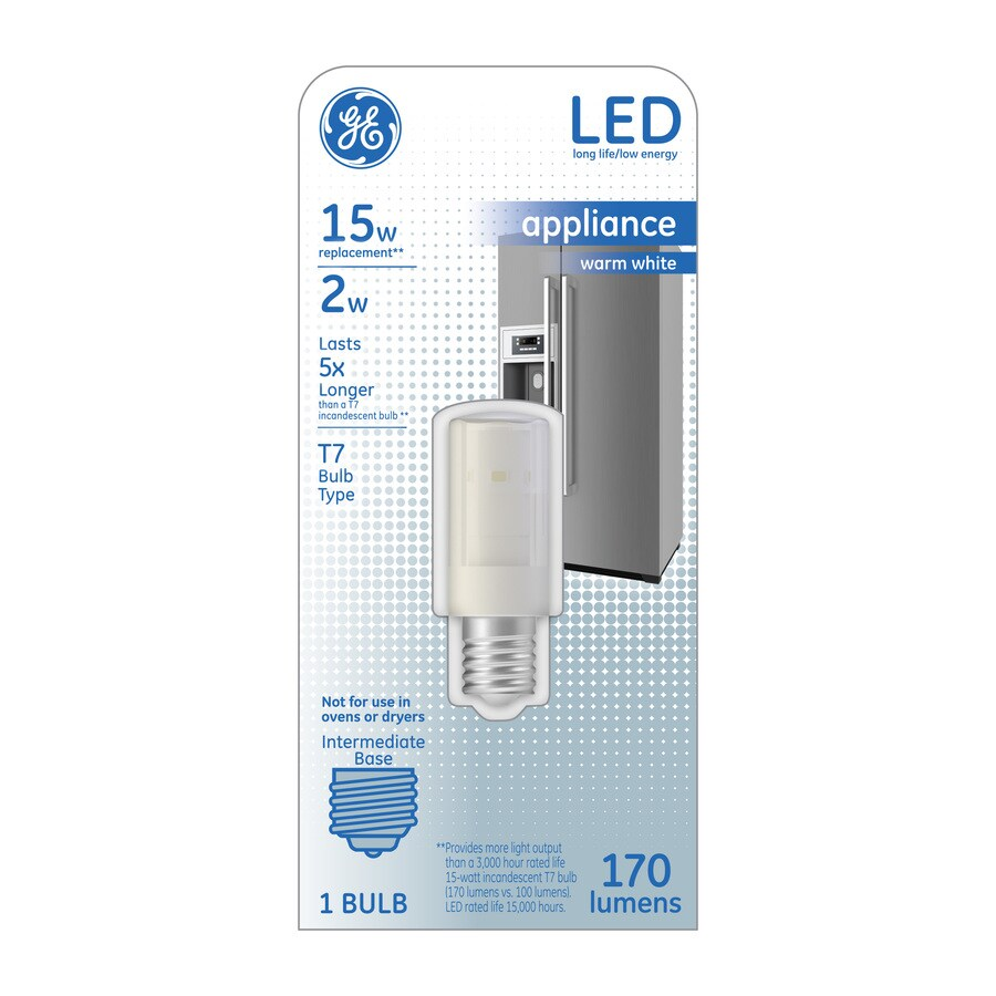 GE 15 W Equivalent Warm White T7 LED Tube Light Bulb