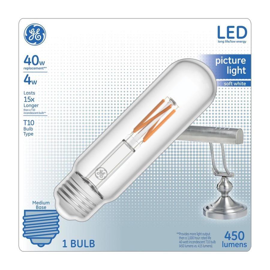 Ge 40 Watt Eq Soft White Light Bulb At Lowes Com