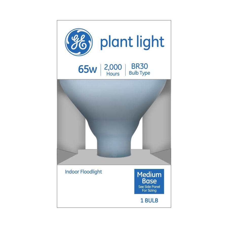 Ge 65 Watt Dimmable R30 Grow Incandescent Light Bulb