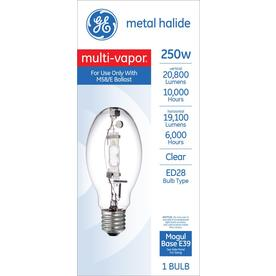 Ge Ed28 Outdoor Metal Halide Hid Light Bulb