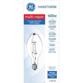 Ge Ed37 Outdoor Metal Halide Hid Light Bulb