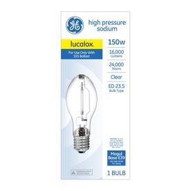 GE 150-Watt 2100 K ET23.5 Mogul base (E-39)  sc 1 st  Loweu0027s & Shop HID Light Bulbs at Lowes.com
