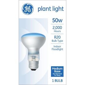 GE 50-Watt Dimmable R20 Plant Incandescent Light Bulb