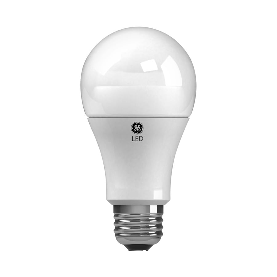 Shop Ge 3 Pack 60 W Equivalent Soft White A19 Led Light Fixture Light Bulbs At