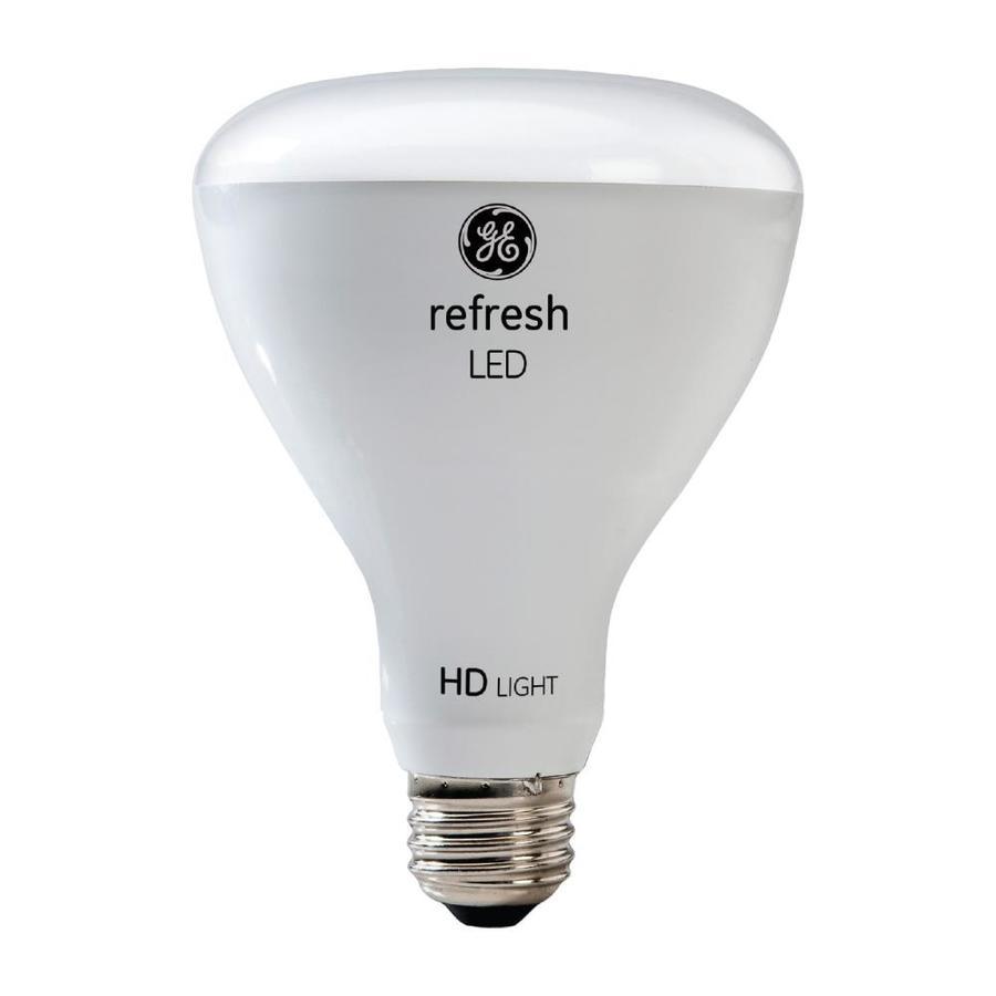GE Refresh 65-Watt EQ LED Br30 Daylight Dimmable Flood Light Bulb (4
