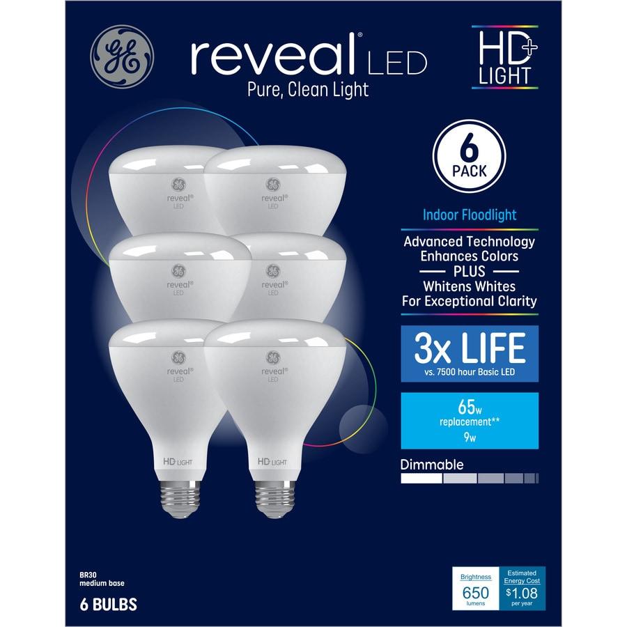 Ge Reveal 65 Watt Eq Color Enhancing Dimmable Light Bulbs