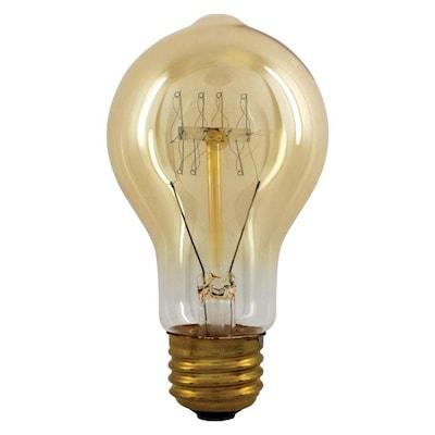 Vintage 60 Watt Dimmable A19 Light Fixture Incandescent Bulb