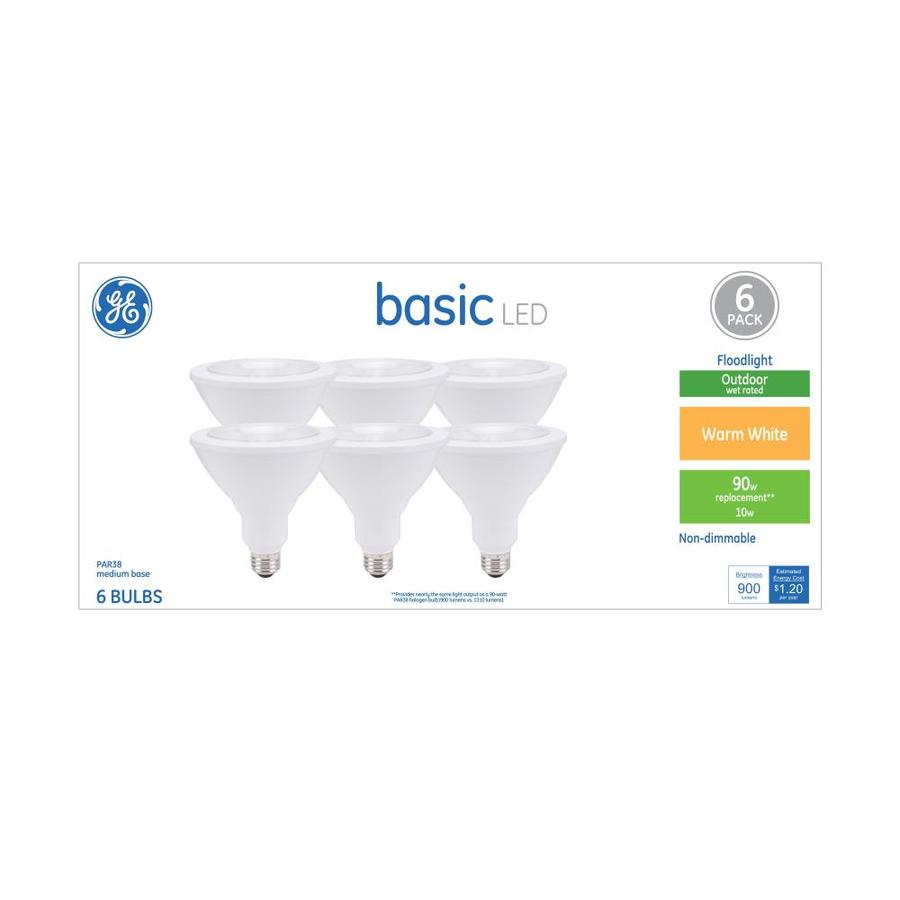 Shop GE Basic Pack W Equivalent Warm White Par LED Light - Basic light fixture