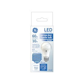 GE Garage Door 60-Watt EQ A19 Daylight LED Light Bulb
