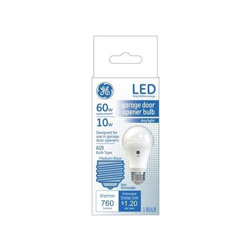 Ge Garage Door 60 Watt Eq A19 Daylight Led Light Bulb At