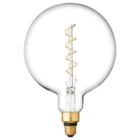 GE Vintage 40-Watt EQ G63 Warm White Dimmable Globe Bulb Light Bulb