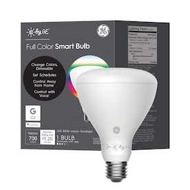 GE Smart 10-Watt EQ LED Br30 Full Spectrum Dimmable Smart Flood Light Light Bulb