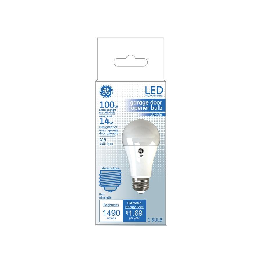 Ge Garage Light 100 Watt Eq A19 Daylight Led Light Bulb In The General Purpose Led Light Bulbs Department At Lowes Com