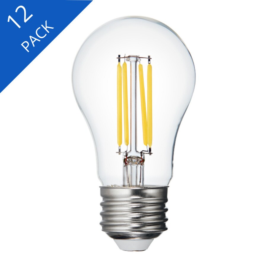 Ge Refresh 60 Watt Eq A15 Daylight Dimmable Led Light Bulb 12 Pack In The General Purpose Led Light Bulbs Department At Lowes Com