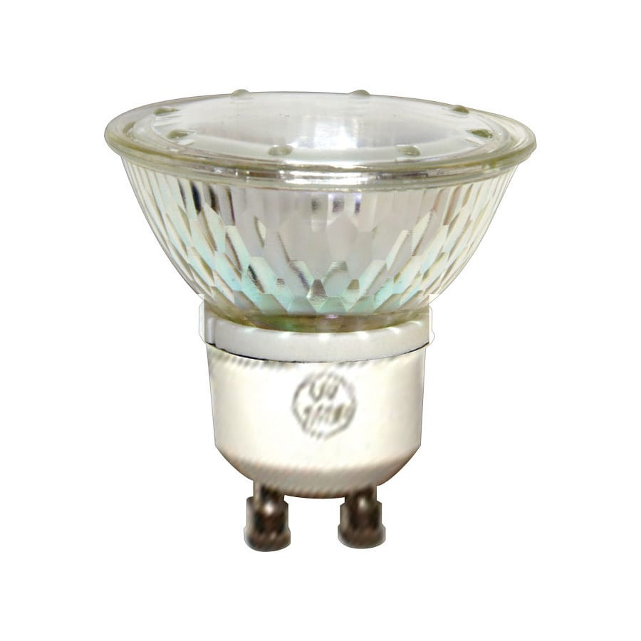Shop Ge 50 Watt Dimmable Bright White Gu10 Halogen Flood Light Bulb At