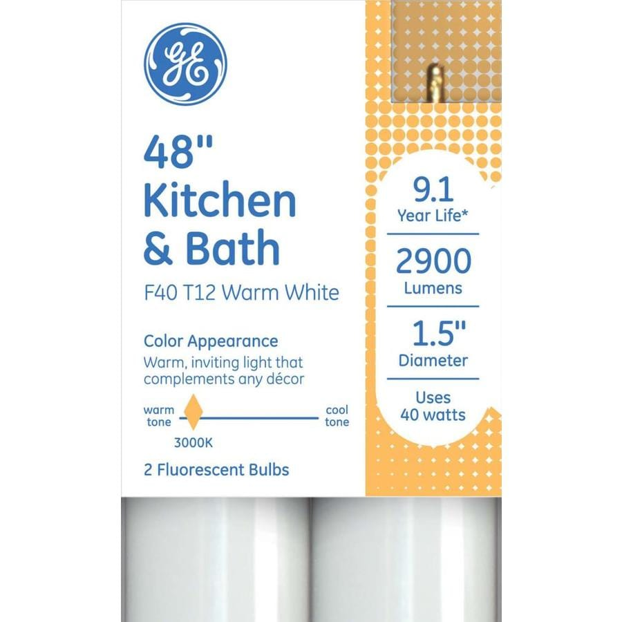 Ge Kitchen And Bath Fluorescent Bulbs